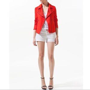 Linen/cotton studded jacket